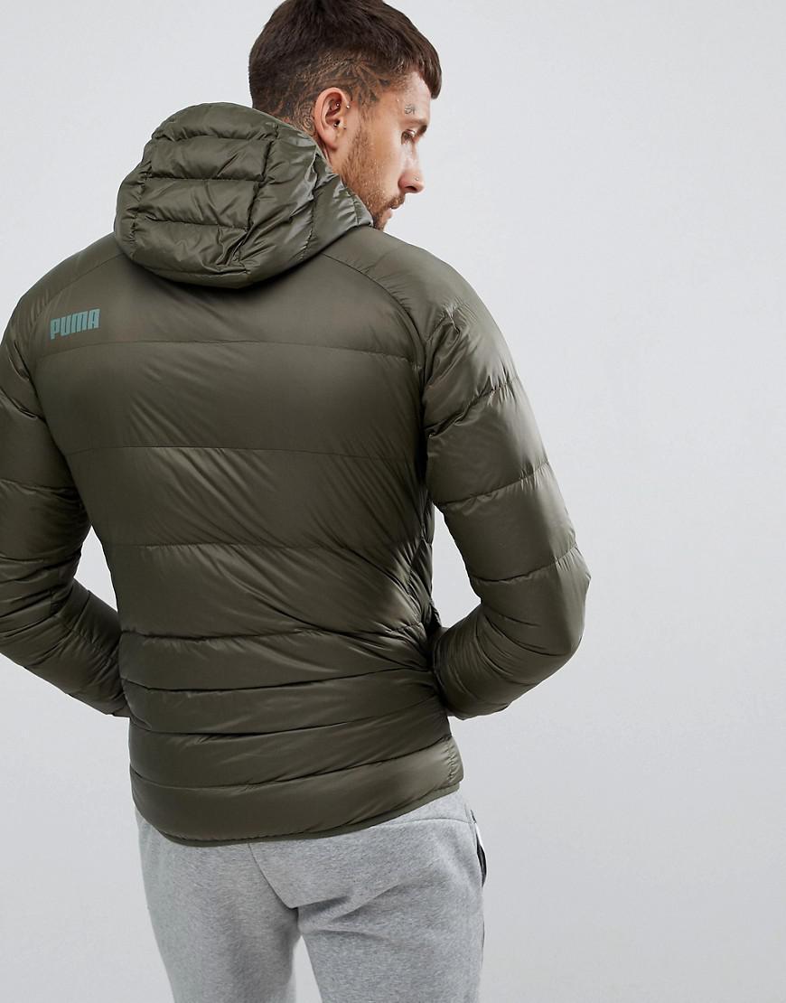 35fa8ffbb Men's Packable Hooded Jacket In Green 85162115