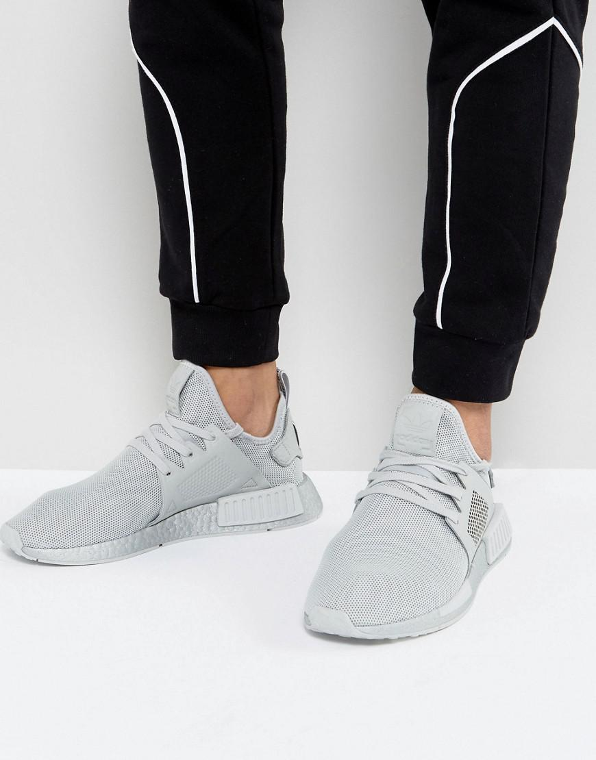 b50075b31 Lyst - adidas Originals Nmd Xr1 Silver Boost Sneakers In Gray By9923 ...