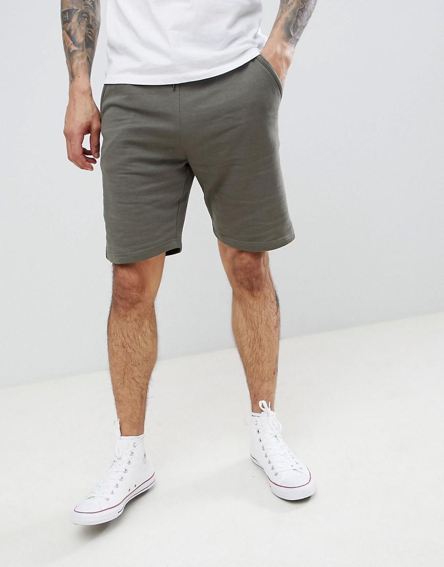 Basic Jersey Shorts - Khaki Threadbare VnZWl