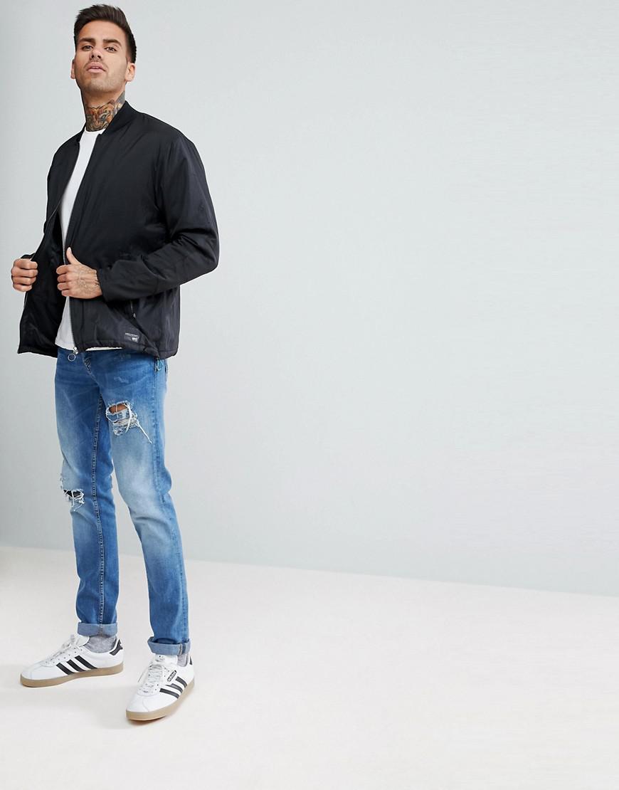 adidas Originals Eqt Track Jacket in Black for Men
