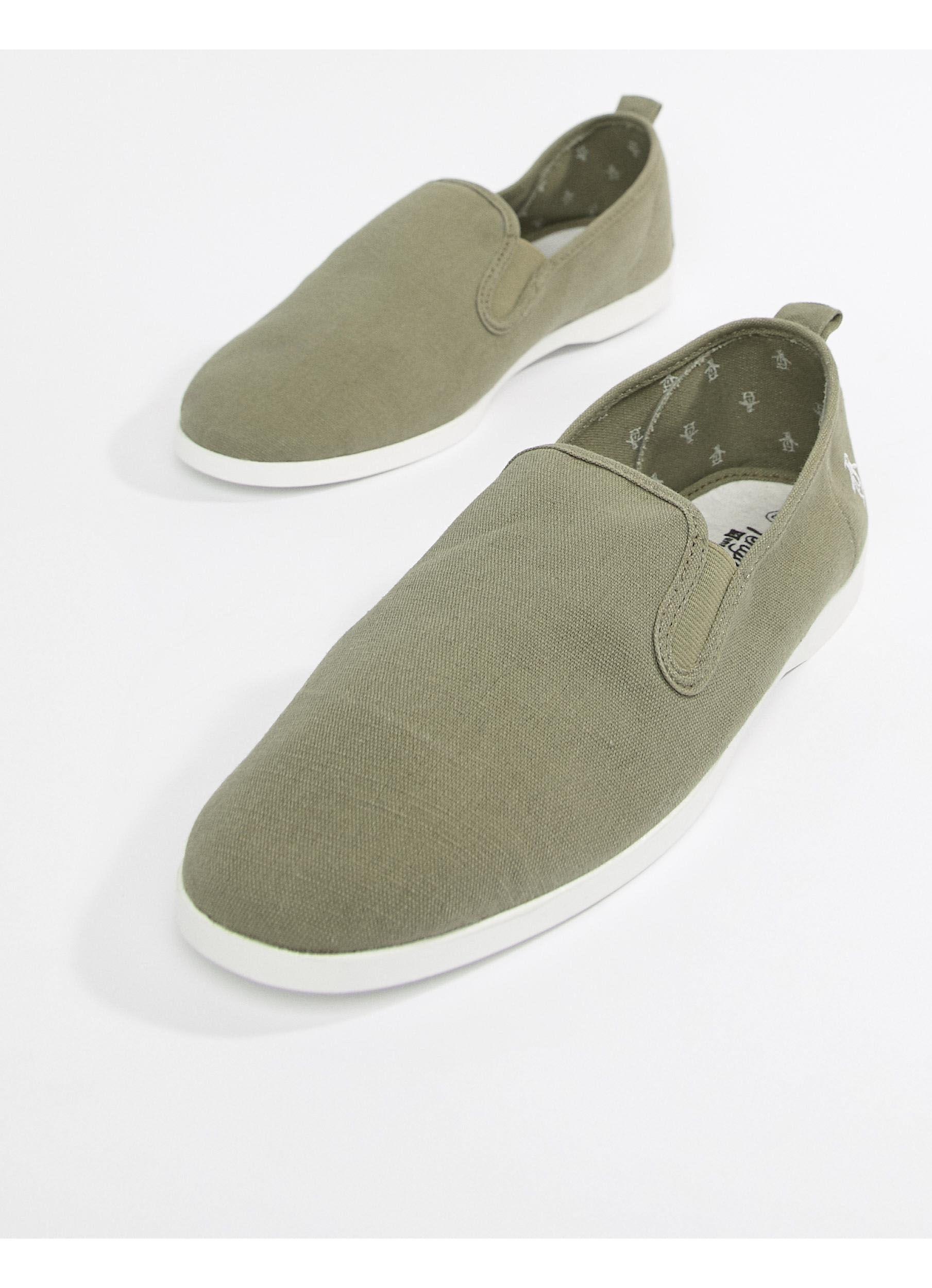 Zapatillas Original Penguin de hombre de color Verde