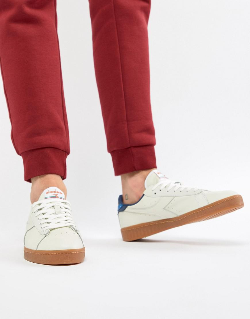 Diadora Diadora Game L Low Heritage Sneakers in White for Men