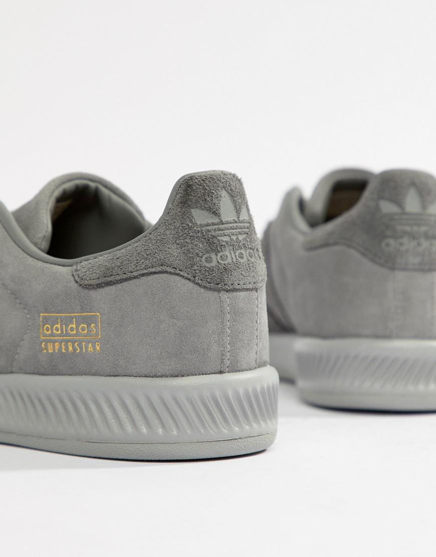 34b1d107e8dc2 Lyst - adidas Originals Superstar Bounce Sneakers in Gray for Men