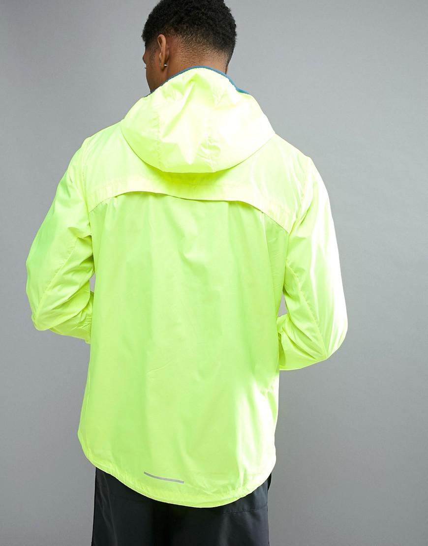 Nike Synthetic Shield Racer Jacket In Yellow 800492-703 for Men