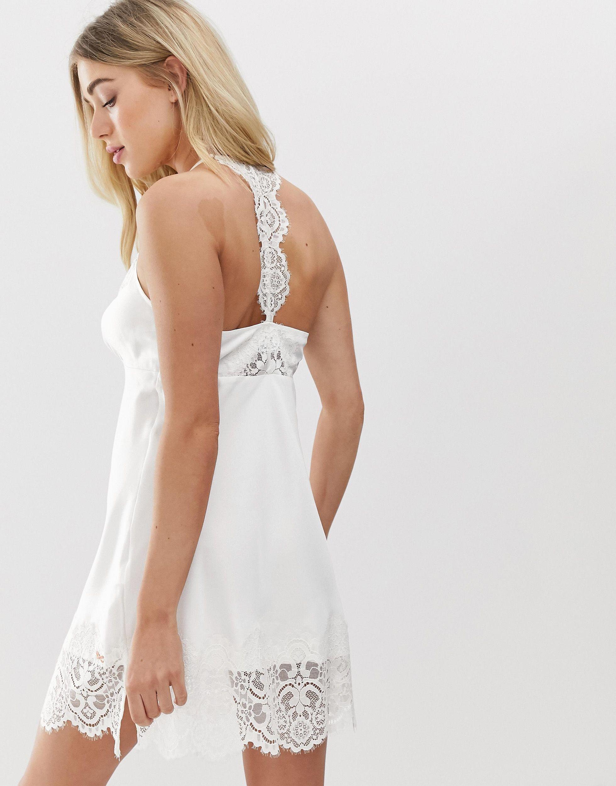 B By - Tie The Knot - Nuisette pour mariée - Ivoire Synthétique Ted Baker en coloris Blanc