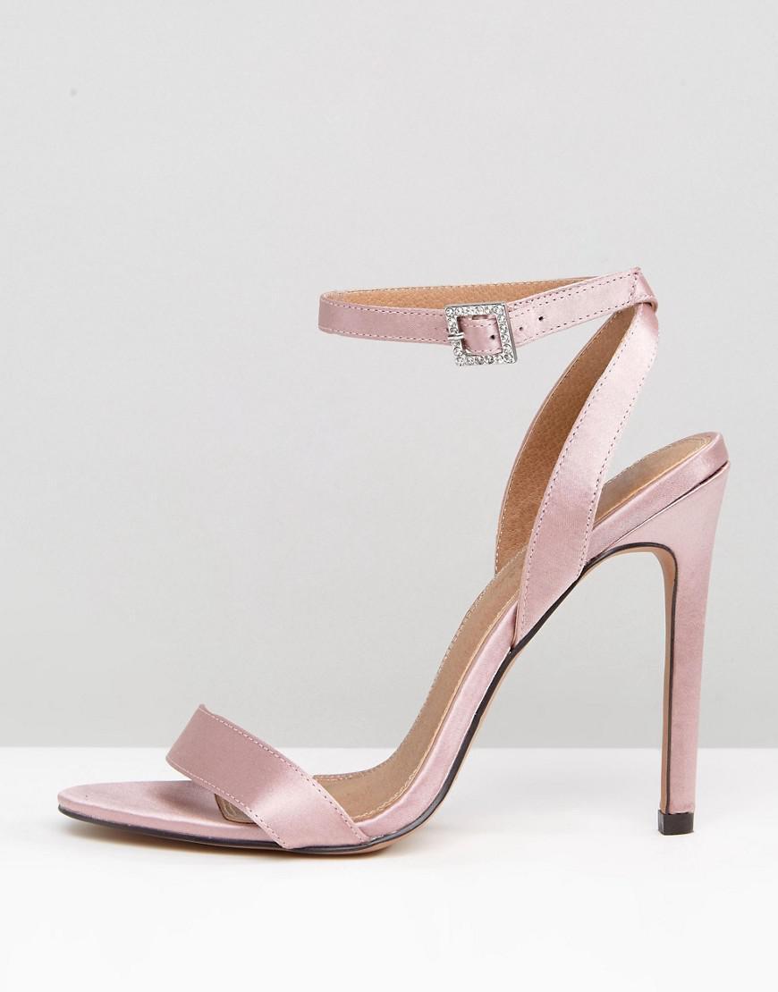 ASOS HOPEFUL Jewelled Buckle Heeled Sandals JE0L6NTw