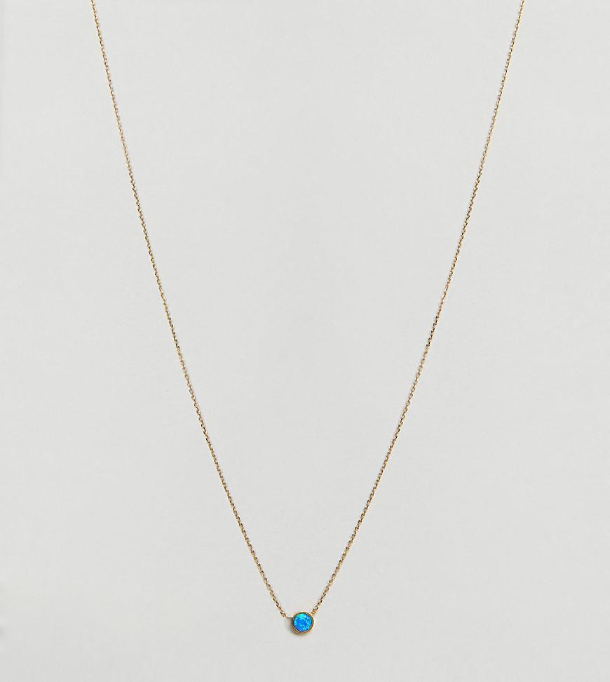 Orelia Three-chain and opal necklace jtAP8jg