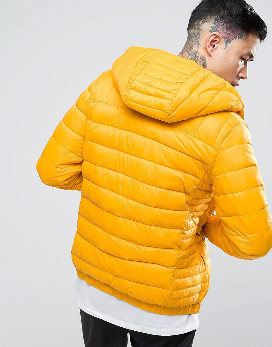 new arrival super service competitive price Puffer Jacket In Yellow