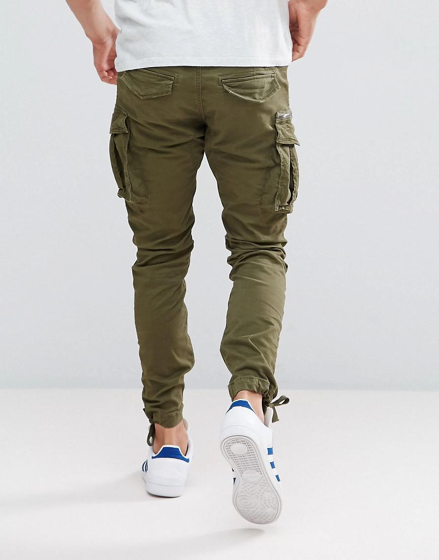 Cargo En Pantalon Pour Jackamp; Green Jones Homme Coloris Ajust 543AjLqR