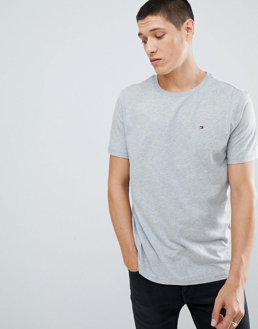876b5bf0625b1 Tommy Hilfiger Flag Icon T-shirt In Organic Cotton In Grey in Gray ...