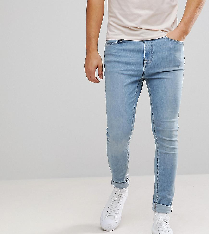 Brooklyn Supply Co Muscle Fit Jeans Bleached Blue - Bleached blue Brooklyn Supply Co. Pm15hl