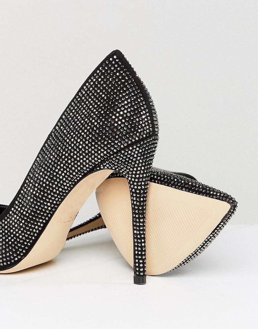 Aldo Nirema Crystal Stud Pointed Shoe NHbCpNURh