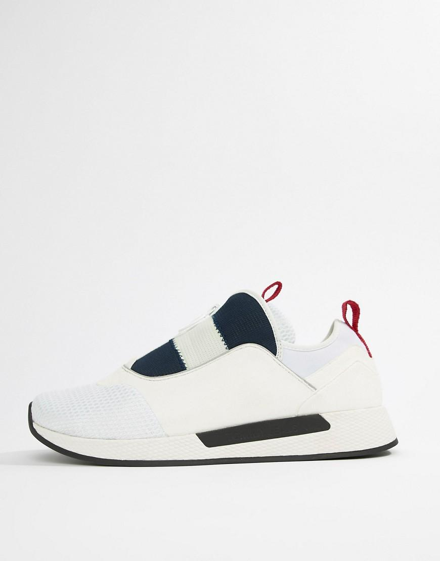 5eba9cef6af675 Lyst - Tommy Hilfiger Icon Sport Flexi Sole Sneaker In Red White And Blue  for Men
