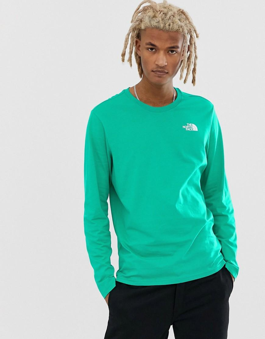 362d16a7 The North Face Easy Long Sleeve T-shirt In Green in Green for Men - Lyst