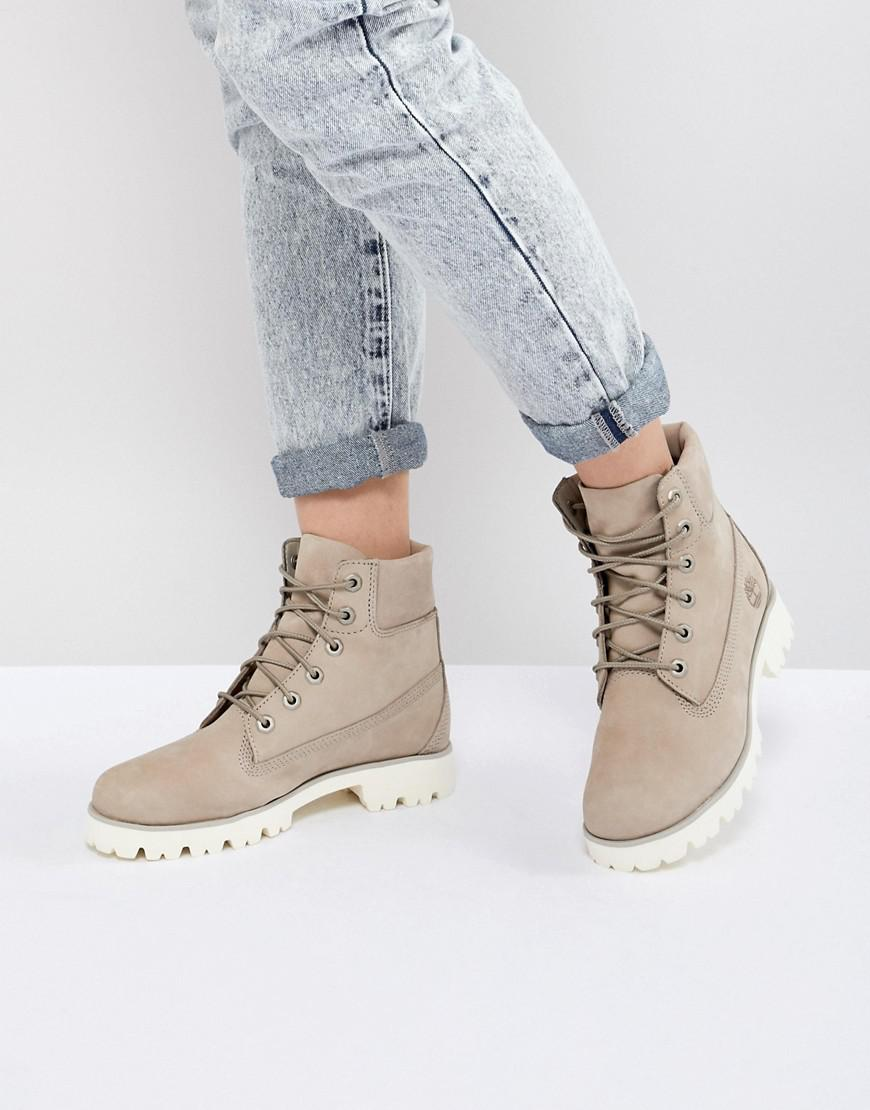 6 Inch Light Heritage Flat Boots