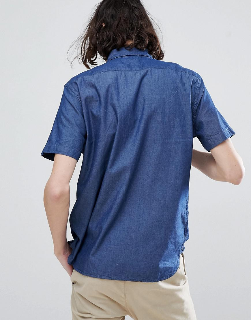 79a3122ed5 Levi s Levi s Chambray Pocket Shirt in Blue for Men - Lyst