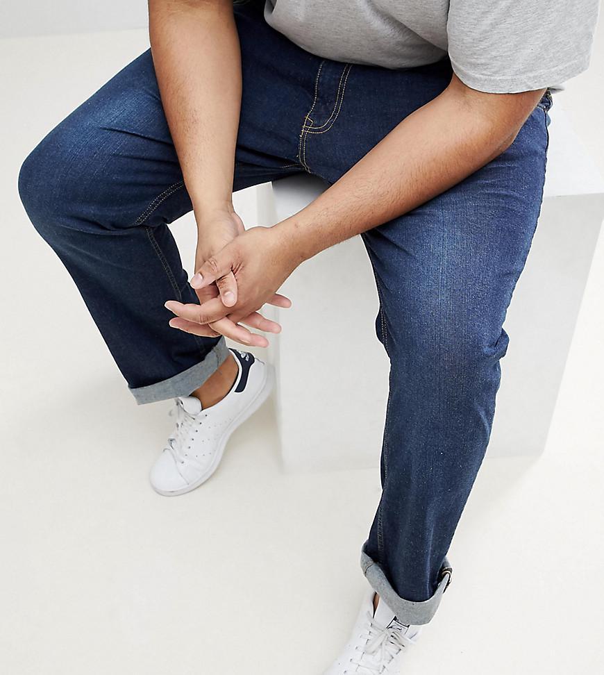 Loyalty and Faith PLUS Regular Stretch Fit Jeans in Dark Wash - Blue Loyalty & Faith yyAwP