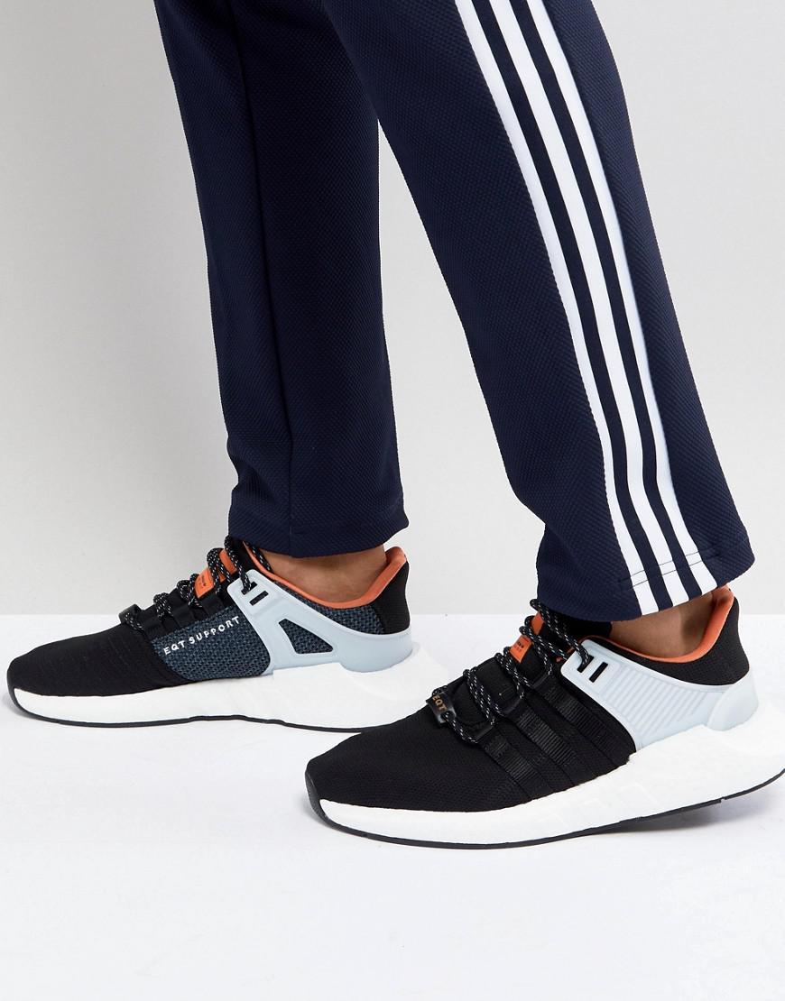 size 40 043e4 8b9bb Lyst - adidas Originals Eqt Support 9317 Sneakers In Black C