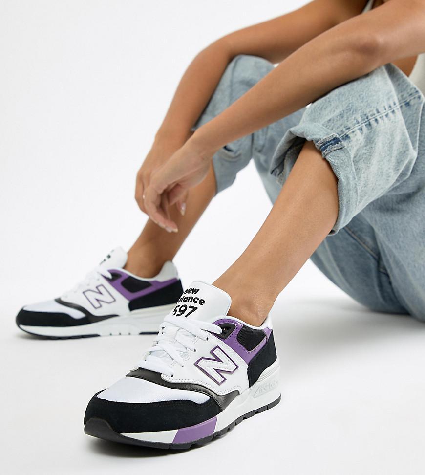 asos new balance trainers