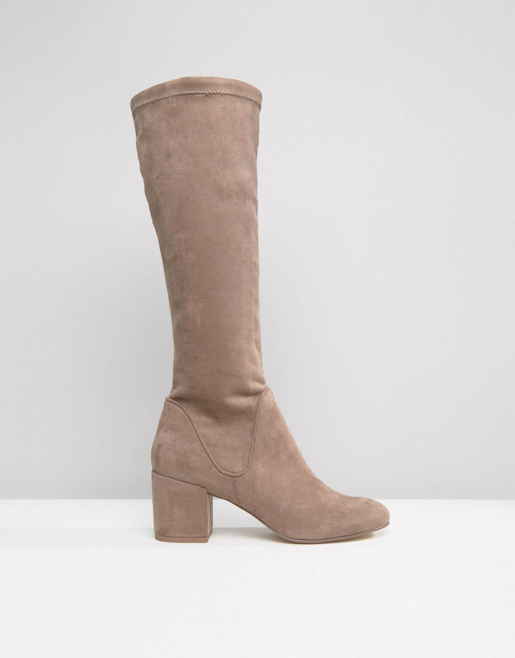 ASOS Multicolor Cameron Knee High Boots