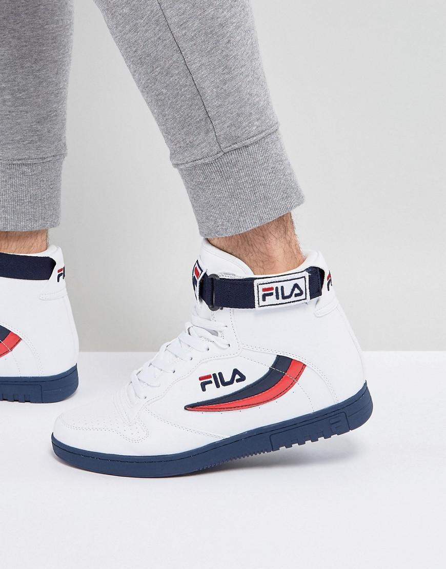 3653b5d997a3 Lyst - Fila Fila Fx-100 Mid Sneakers In White in White for Men