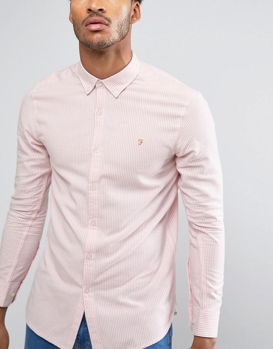 Mens Halwyn Casual Shirt Farah Sale Really Original Discount Geniue Stockist Free Shipping Discount Real For Sale f1gSRe