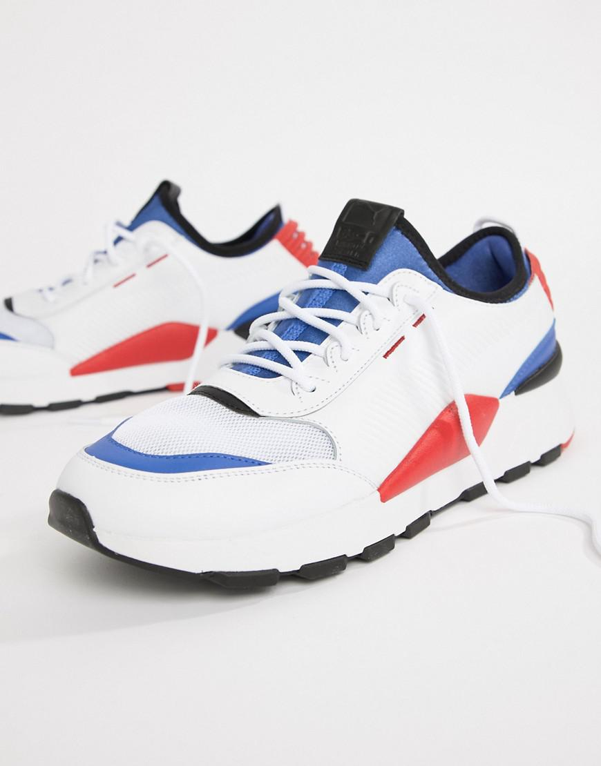 PUMA Rs-0 Sound Sneakers In White 36689001 in White for Men - Lyst f91843b85