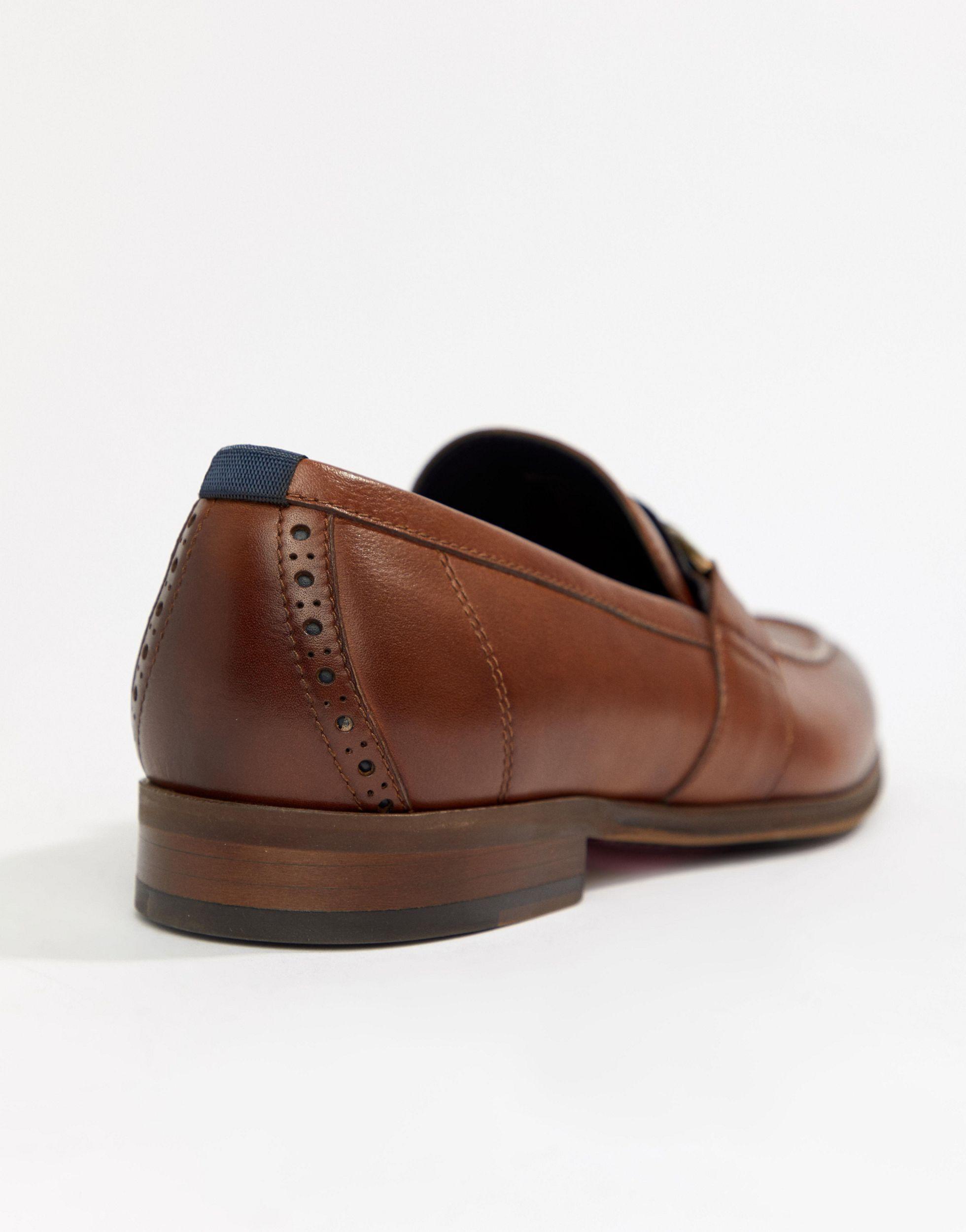 ALDO Leer Gwiradien - Loafers Van Lichtbruin Leer in het Bruin voor heren