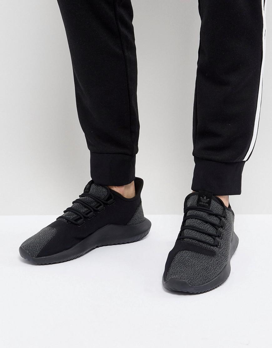 outlet store 5fdbd a7bf7 adidas Originals Tubular Shadow Sneakers In Black By4392 for ...
