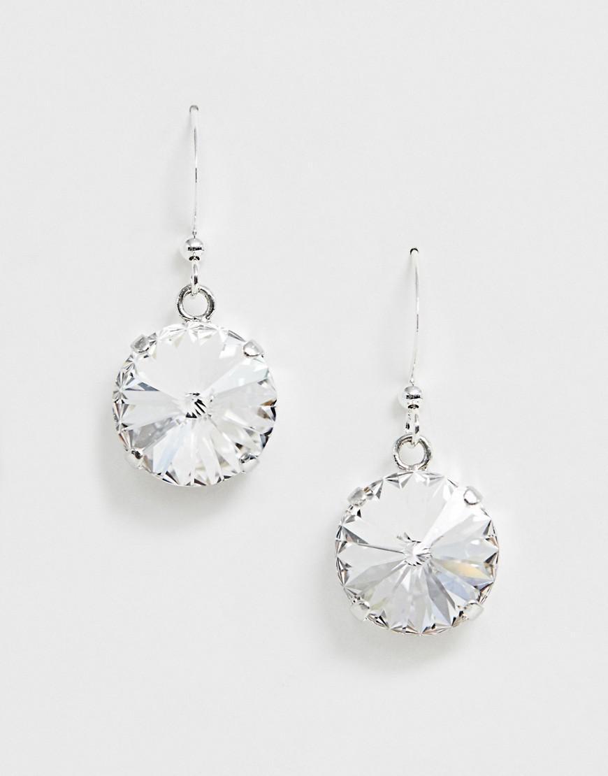 960cca31805aa Krystal London Swarovski Crystal Rivoli On Earhook Earrings in ...