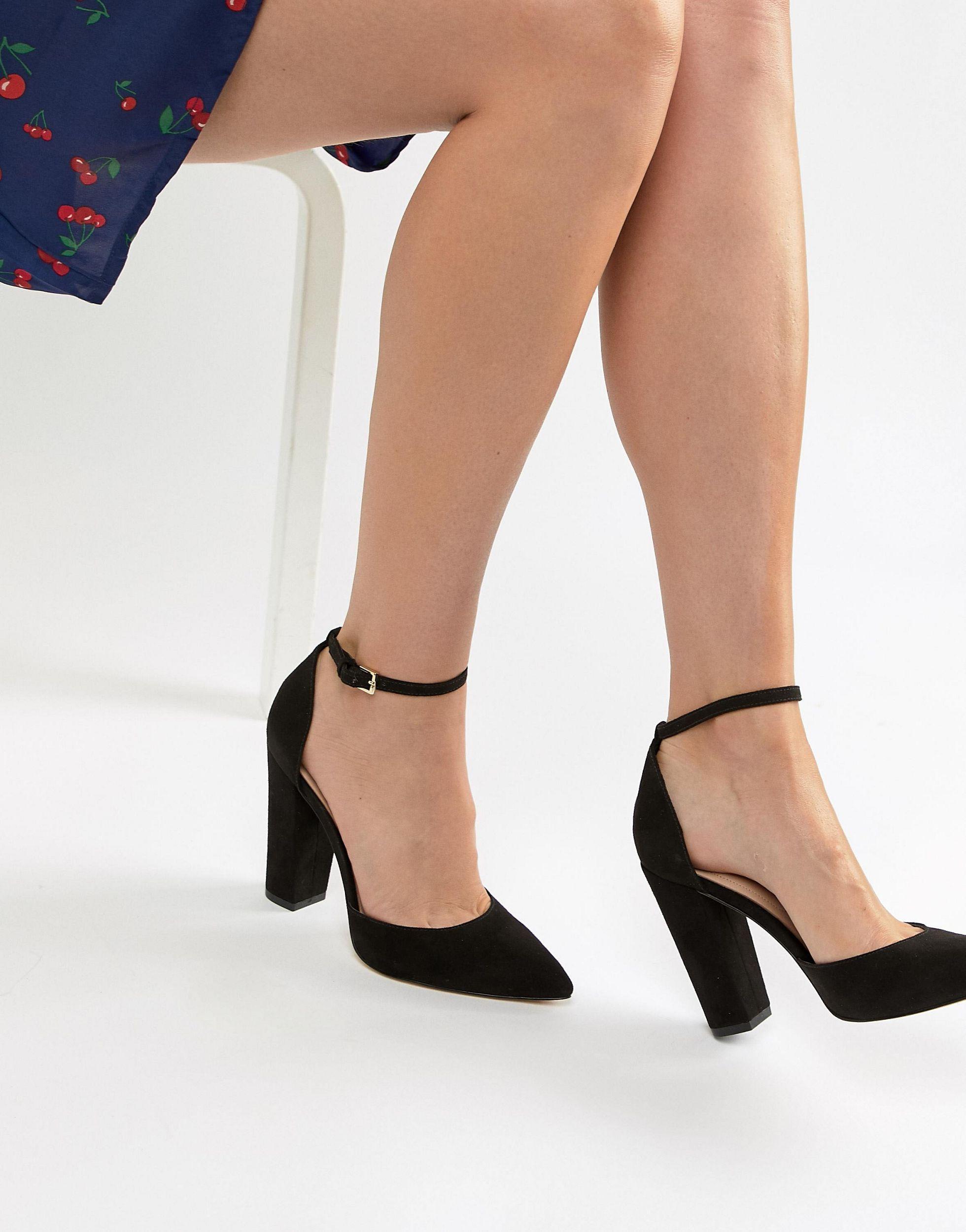 Zapatos ALDO de Cuero de color Negro