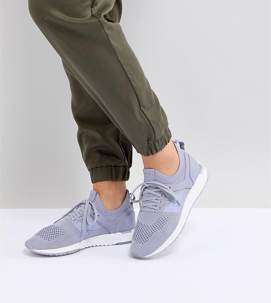 247 Deconstructed Trainers In Lilac