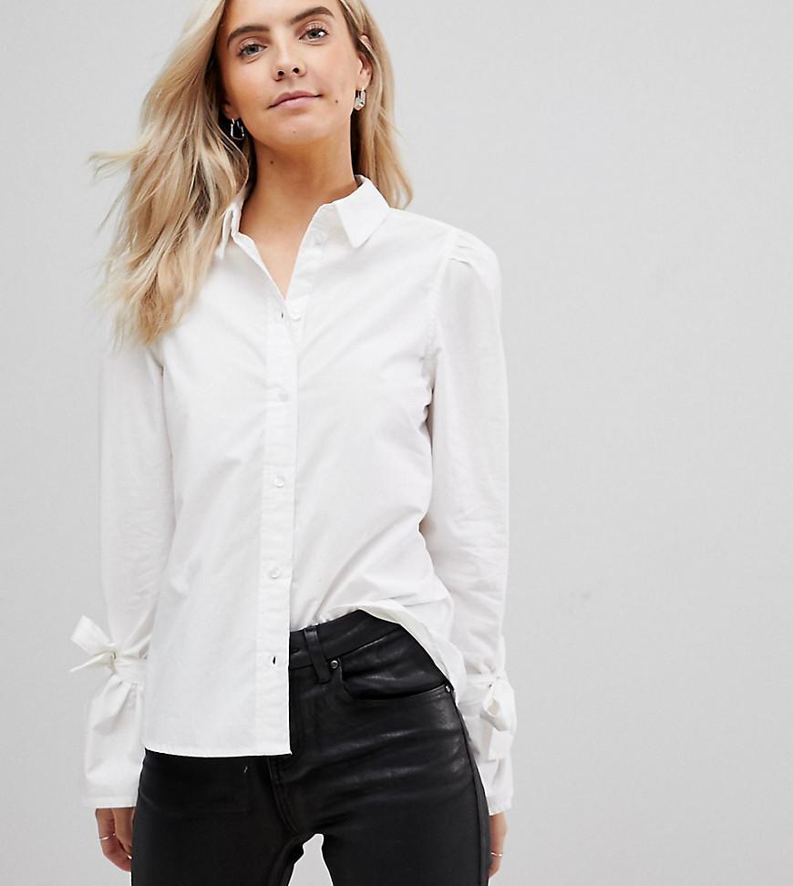 Buy Cheap Huge Surprise Vero Moda Balloon Sleeve Embroidered Shirt Good Service zTn2H