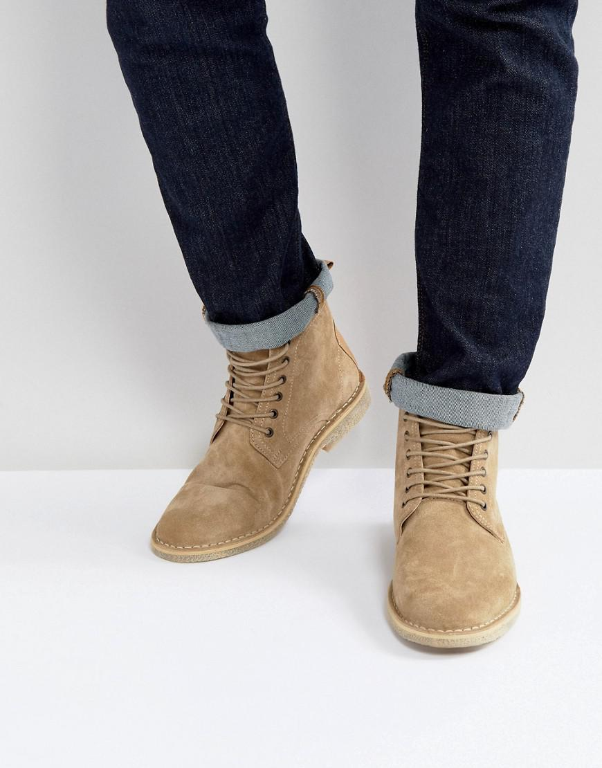 discount wiki ASOS DESIGN Wide Fit chelsea boots in grey faux suede cheap extremely free shipping enjoy outlet ebay T2lFV4LYB