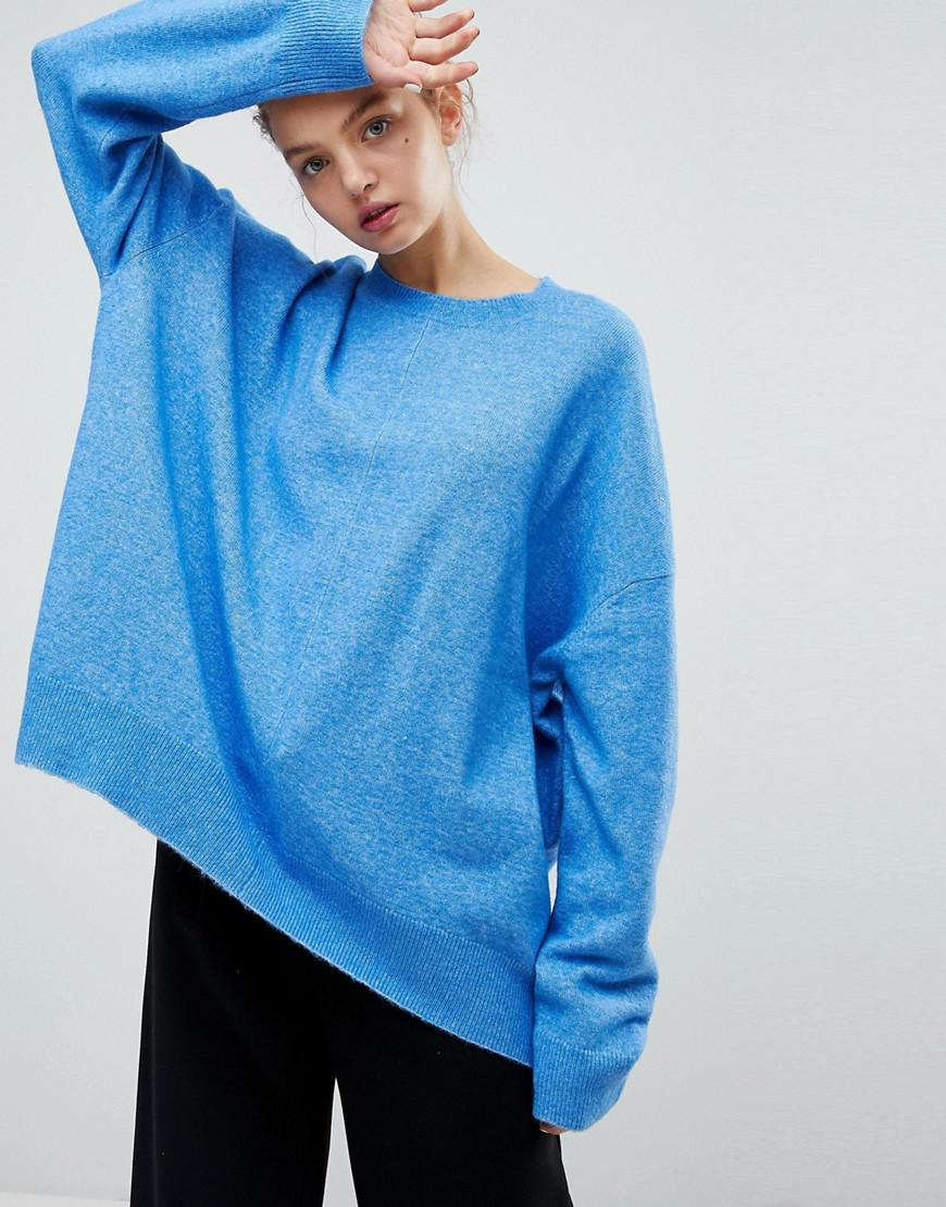 Weekday Tril Knot Sweater - Blue Low Shipping Online Buy Cheap Best Cheap Sale Excellent Limited Edition aNTVxP001F