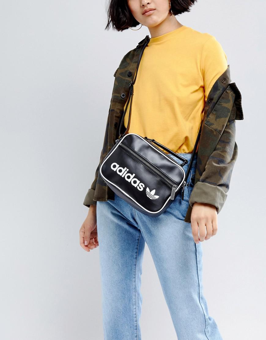 Adidas Originals Vintage Airliner Shoulder Bag | Size?
