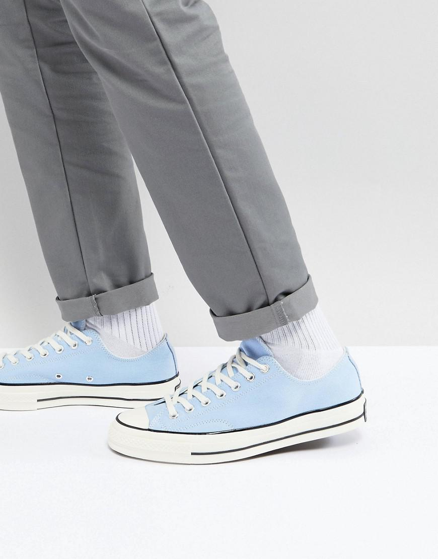 Chuck Taylor All Star 70 Ox Plimsolls In Blue 159625C - Blue Converse FYgJN