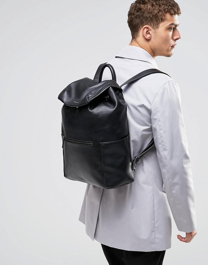 matt nat greco backpack in black for men lyst. Black Bedroom Furniture Sets. Home Design Ideas