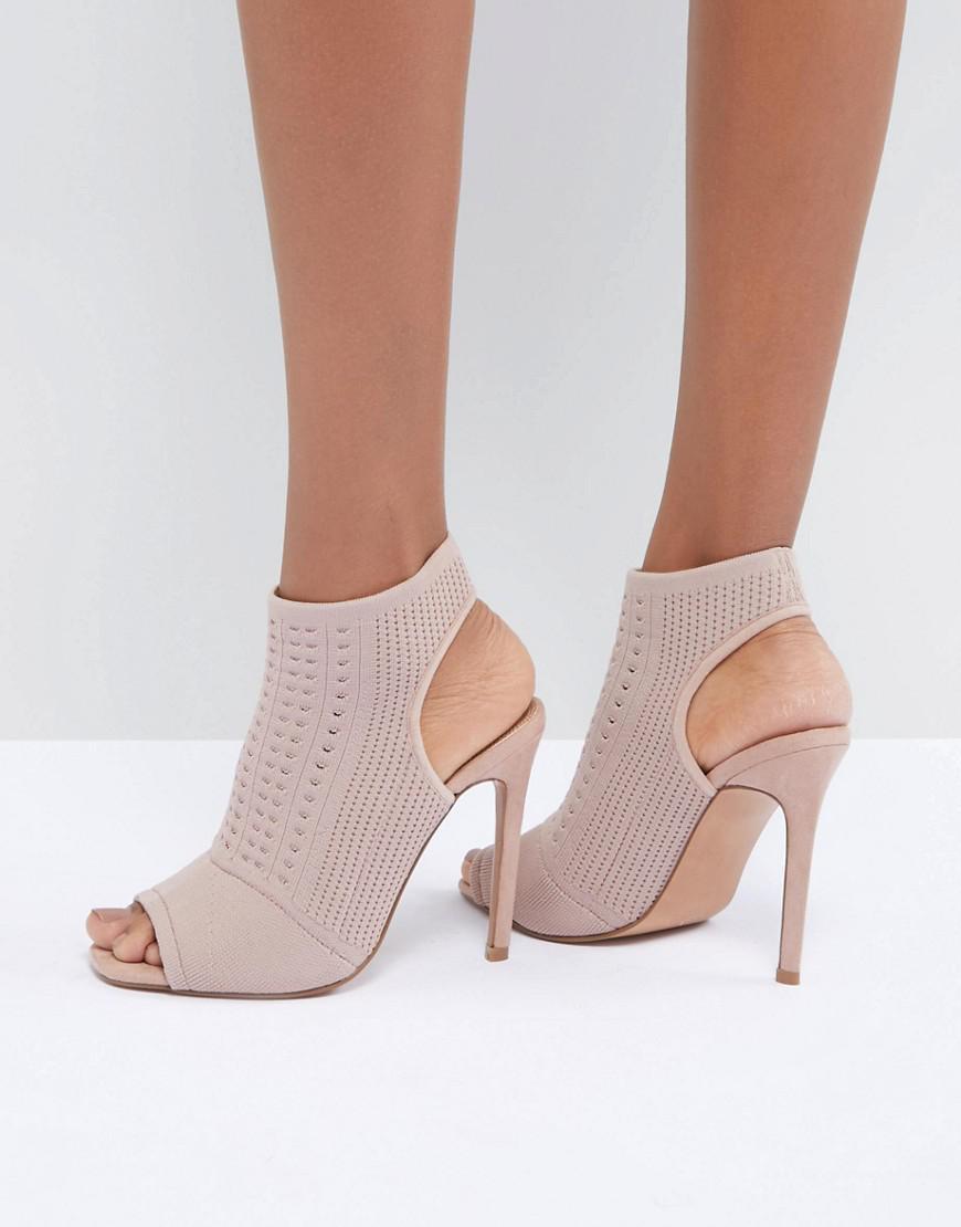 bd2ece0d3e6 Women's Pink Harlem Knitted High Heels