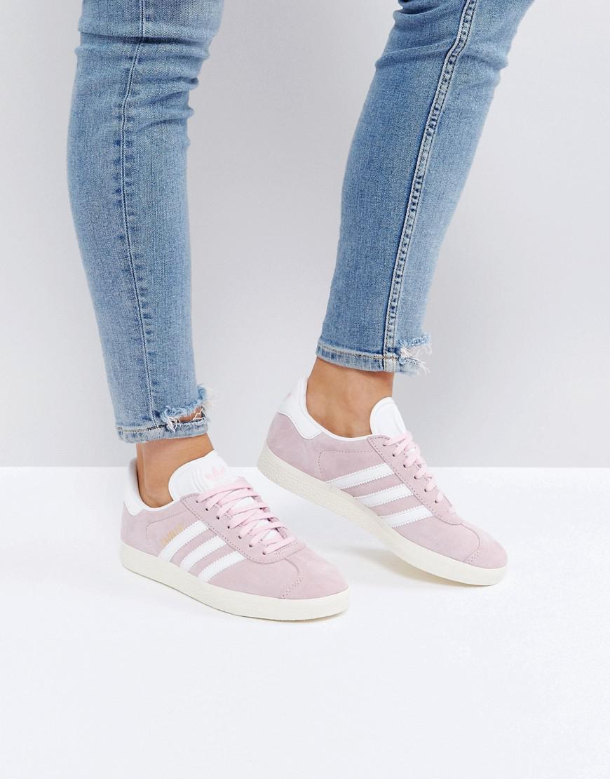 gazelle adidas rose pale
