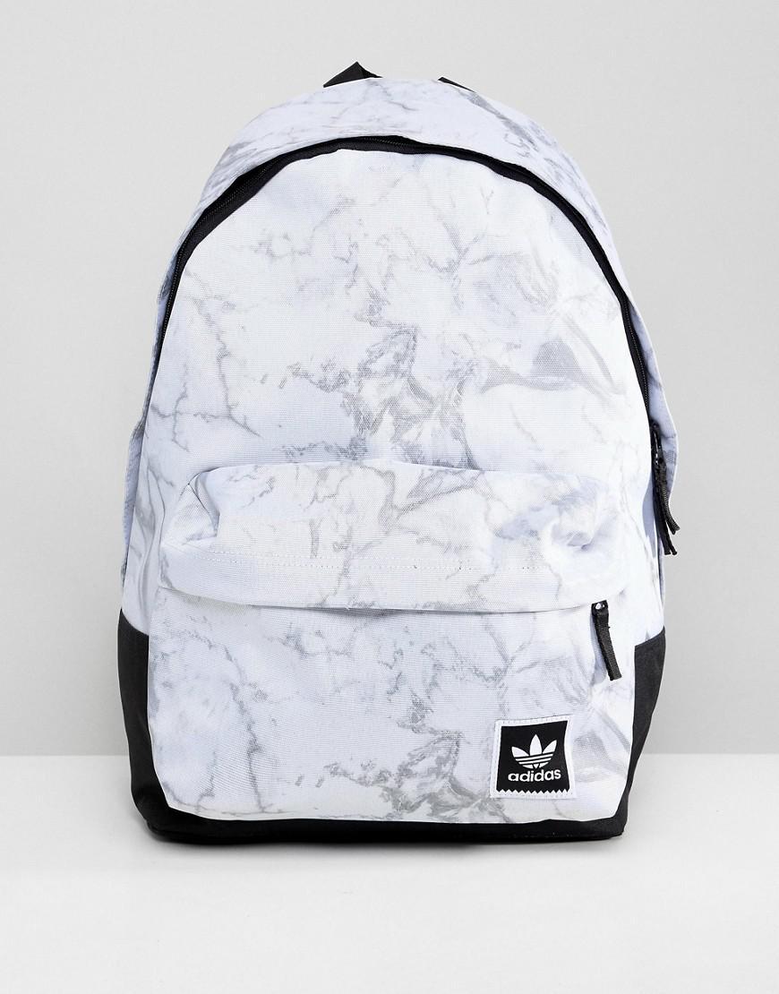 Sac dos marbr adidas Originals pour homme en coloris Blanc - Lyst