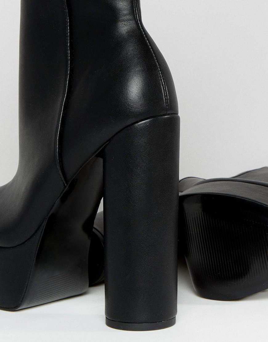 asos platform ankle boots Shop Clothing