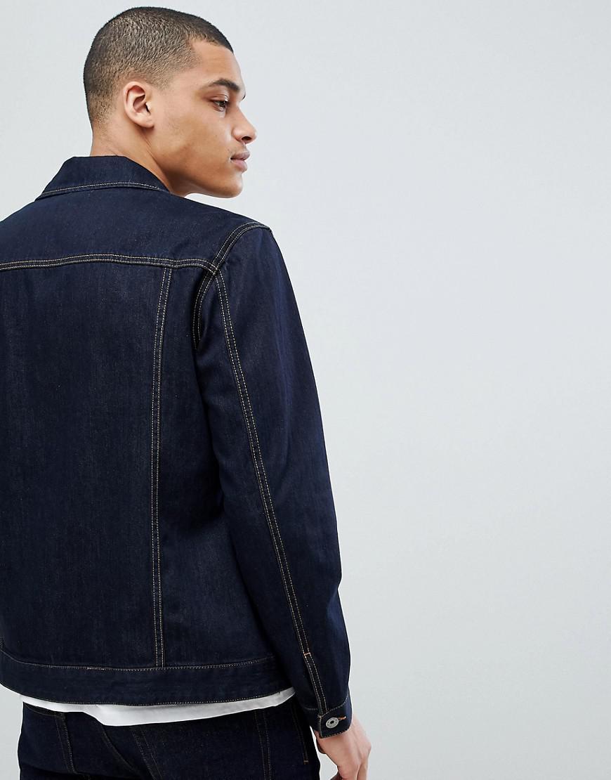 Benetton Denim Jacket in Blue for Men