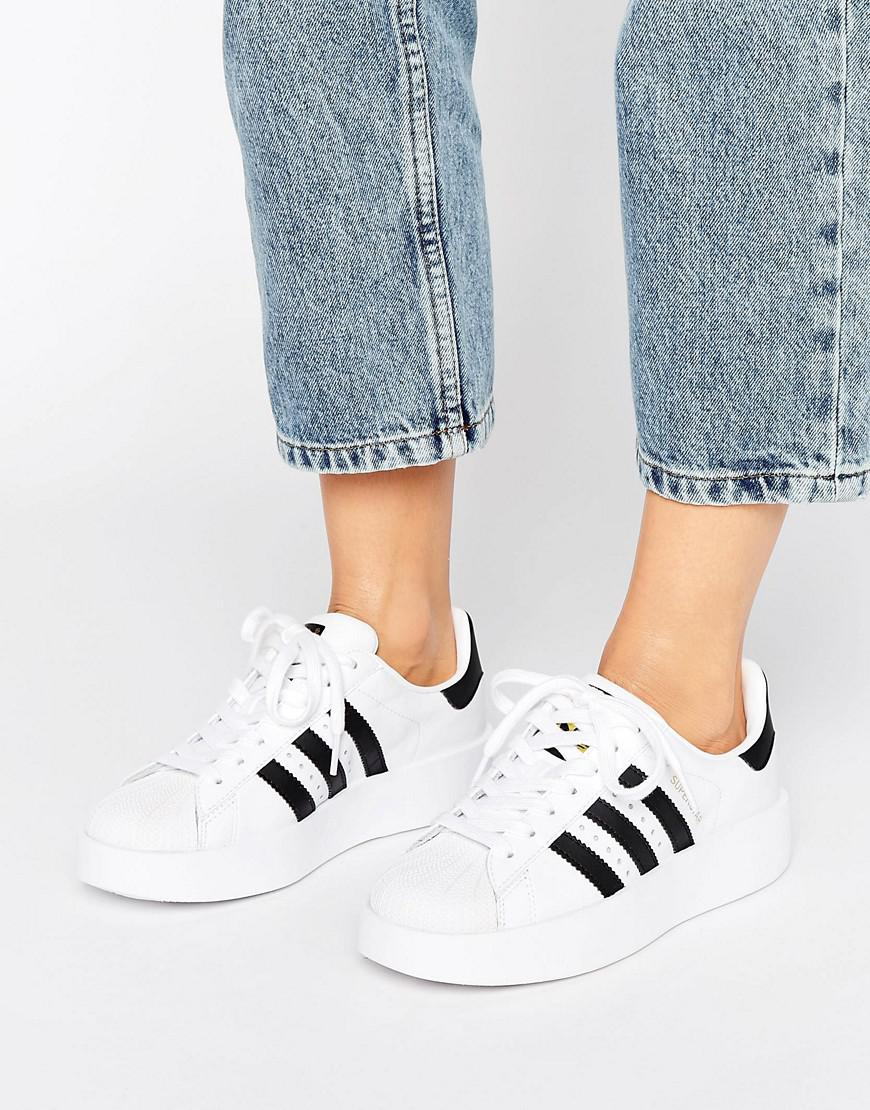 Black Adidas Double Originals White Lyst Bold Superstar And Sole KF31cTlJ