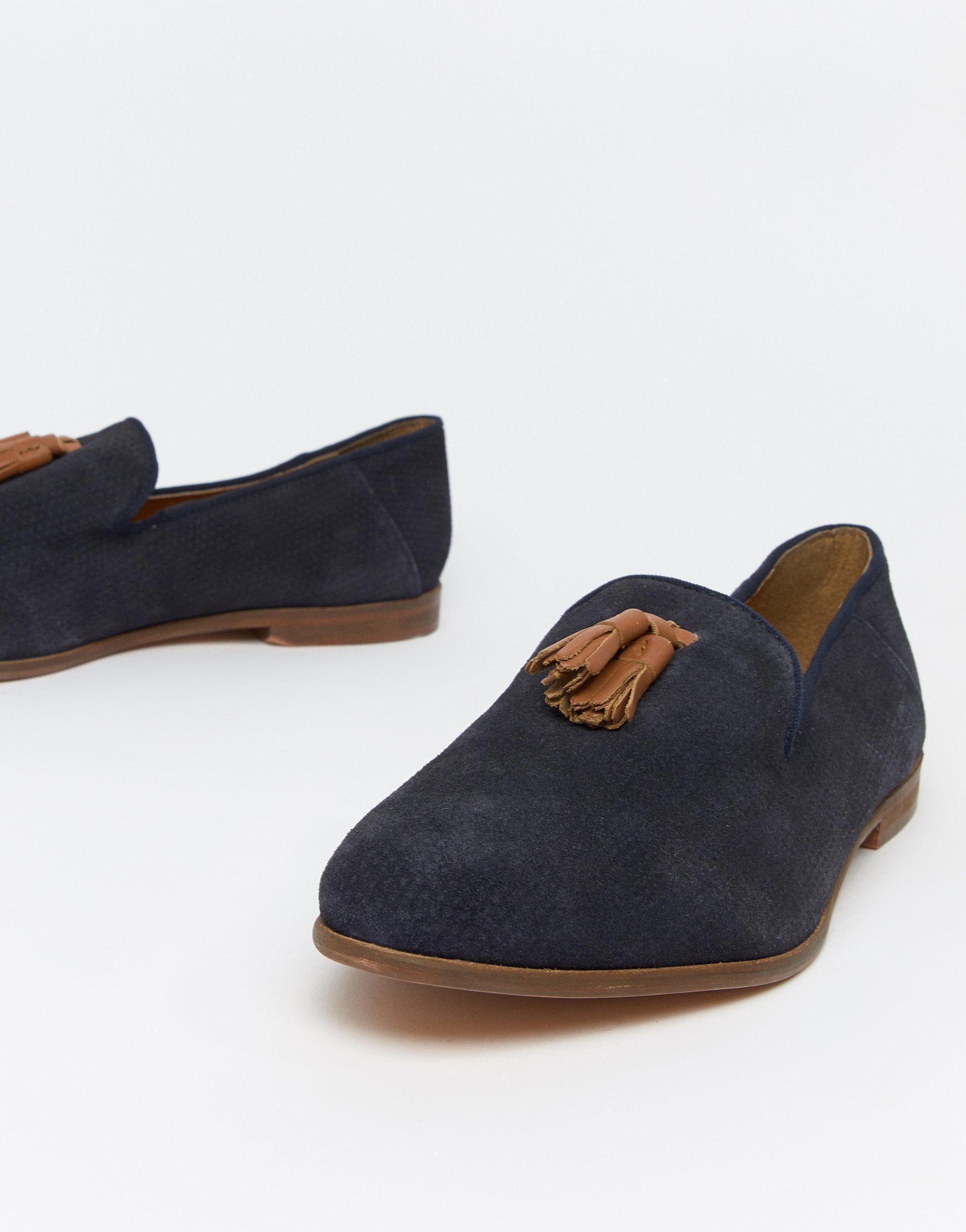 KG by Kurt Geiger Kg By Kurt Geiger - Loafers Met Contrasterende Kwastjes in het Blauw voor heren