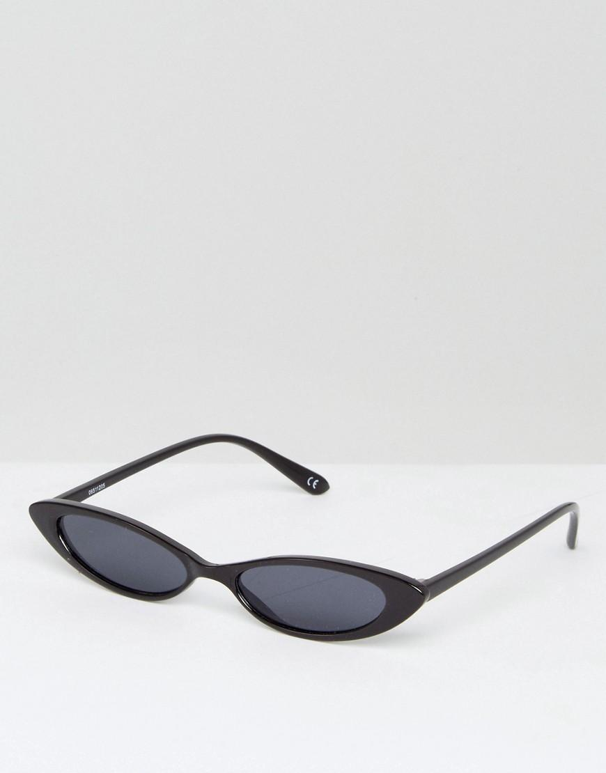 302038bb41311 ASOS Cat Eye Fashion Glasses in Black - Lyst