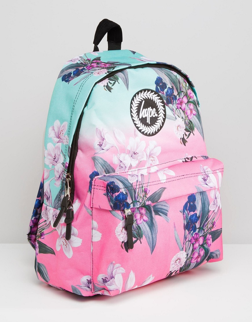 d984b4ebf Hype Ombre Floral Backpack - Lyst