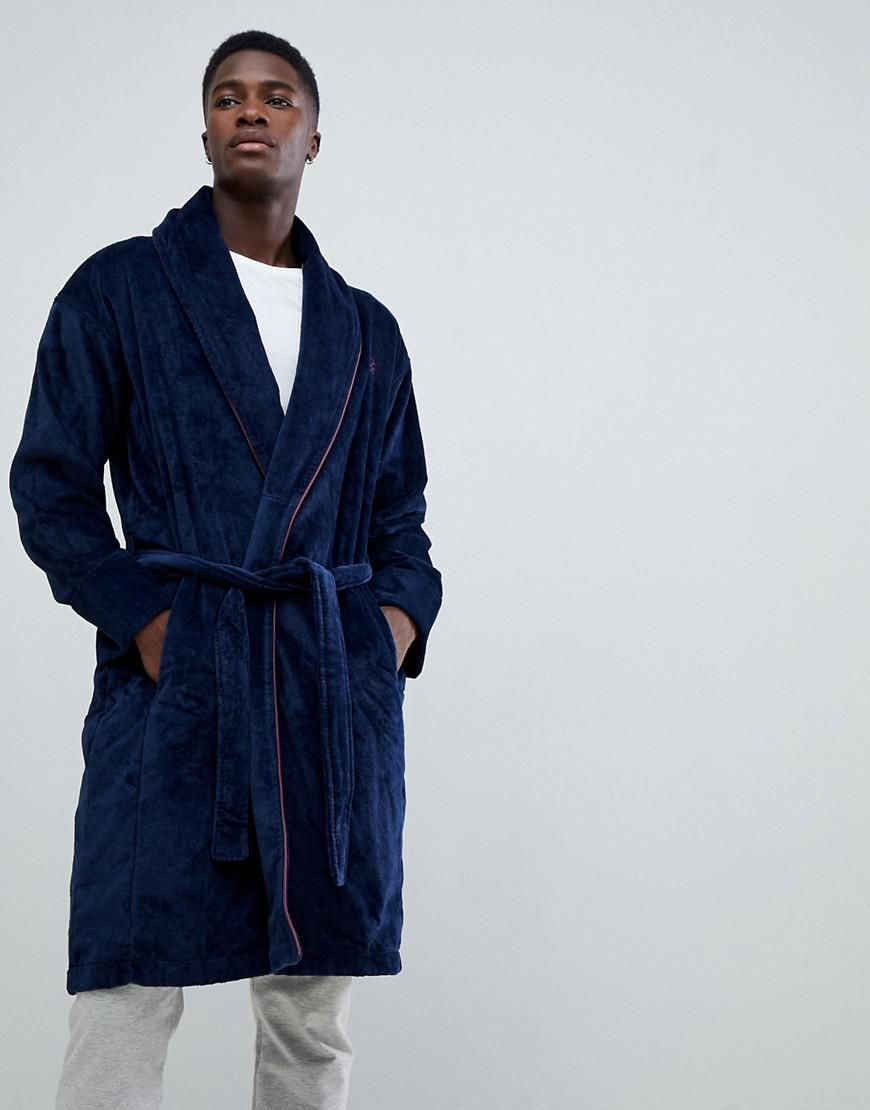 9a905fab19c186 Ted Baker Dressing Gown in Blue for Men - Lyst