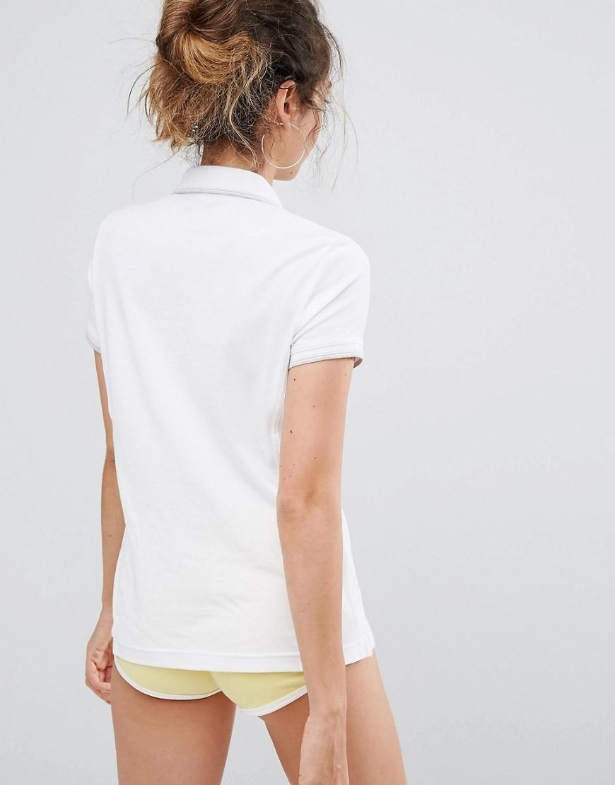 17bcd639 Champion Polo Top in White - Lyst