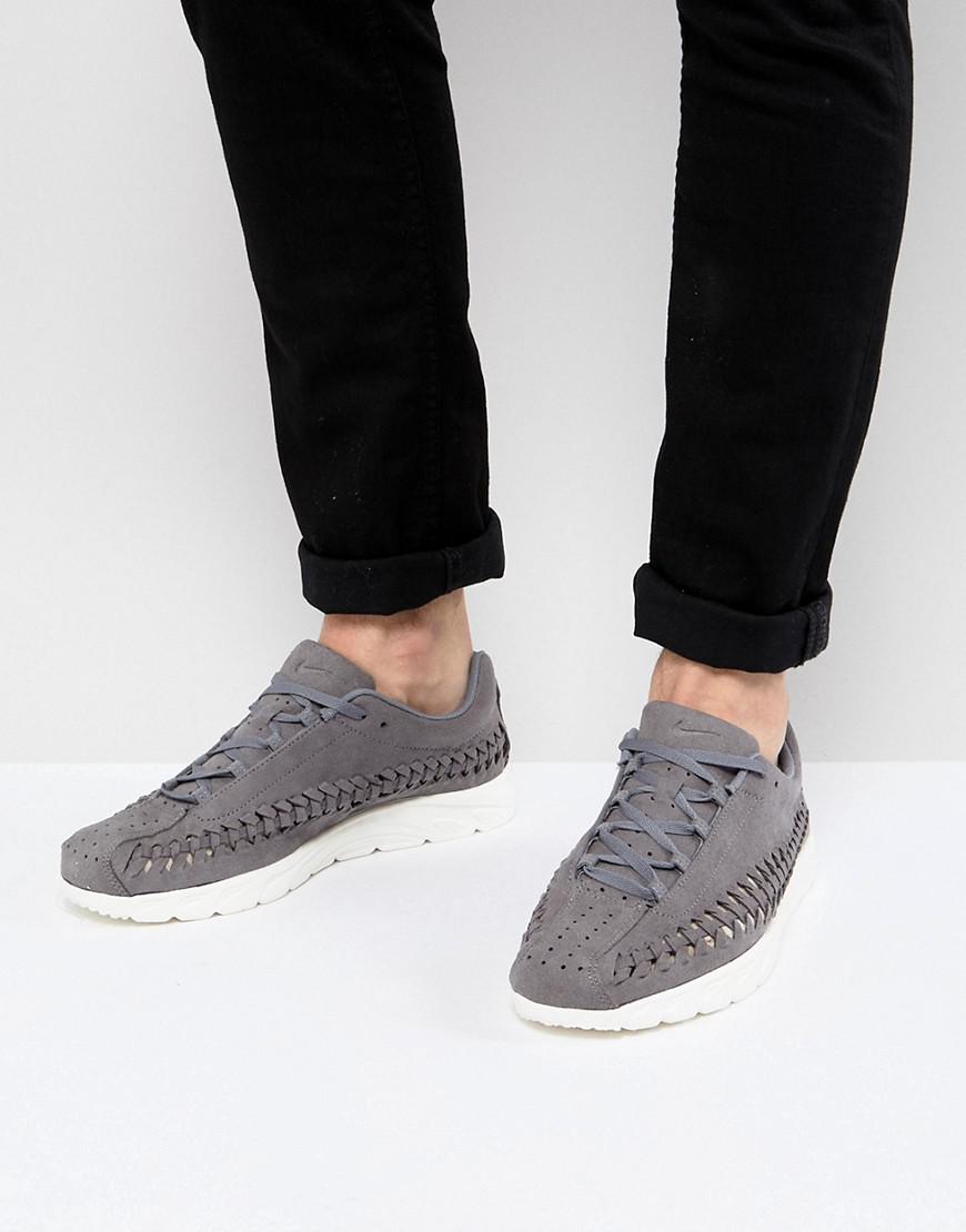 innovative design 3e534 91d0f Nike Mayfly Woven Sneakers In Grey 833132-007 in Gray for Men - Lyst
